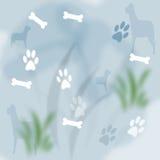 κατοικίδιο ζώο σκυλιών ανασκόπησης Στοκ Φωτογραφία