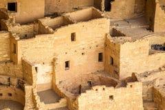 Κατοικίες απότομων βράχων στα εθνικά πάρκα Mesa Verde, κοβάλτιο, ΗΠΑ στοκ φωτογραφία