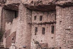 Κατοικίες απότομων βράχων του Κολοράντο Manitou στοκ εικόνα με δικαίωμα ελεύθερης χρήσης