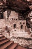 Κατοικίες απότομων βράχων του Κολοράντο Manitou στοκ εικόνες