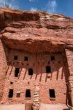 Κατοικίες απότομων βράχων Manitou στοκ φωτογραφίες
