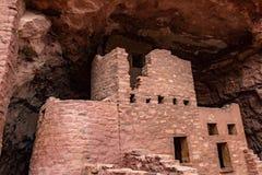 Κατοικίες απότομων βράχων Manitou στοκ φωτογραφία