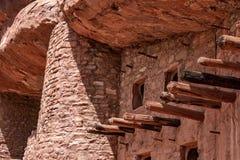 Κατοικίες απότομων βράχων Manitou στοκ φωτογραφία με δικαίωμα ελεύθερης χρήσης