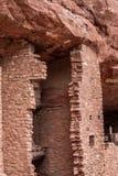 Κατοικίες απότομων βράχων Manitou στοκ εικόνα