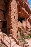 Κατοικίες απότομων βράχων Manitou στοκ εικόνες