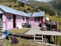 Κατοικεί στο χωριό Ghyaru Στοκ εικόνες με δικαίωμα ελεύθερης χρήσης