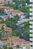 Κατοικημένα διαμερίσματα σε κεντρικό São Paulo Στοκ Εικόνα