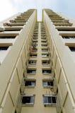 Κατοικημένα κτήρια της Σιγκαπούρης Στοκ Φωτογραφία
