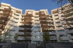 Κατοικημένα κτήρια Libeskind σε Citylife, Μιλάνο στοκ φωτογραφία με δικαίωμα ελεύθερης χρήσης