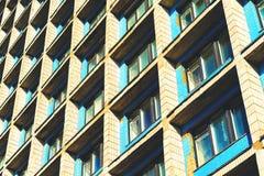 Κατοικημένα κύτταρα του κτηρίου ξενώνων Στοκ Εικόνα