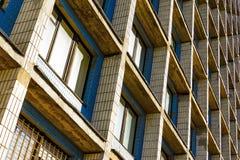 Κατοικημένα κύτταρα του κτηρίου ξενώνων Στοκ εικόνα με δικαίωμα ελεύθερης χρήσης