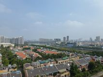 Κατοικημένες βίλες σε Guangzhou, Κίνα στοκ φωτογραφίες