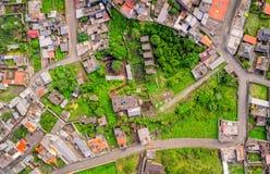 Κατοικημένη Κοινότητα Banos, Ισημερινός Στοκ Εικόνες