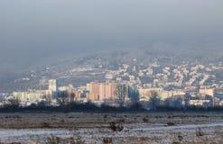 Κατοικημένη περιοχή στη Μπρατισλάβα Στοκ εικόνες με δικαίωμα ελεύθερης χρήσης