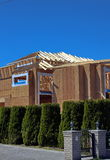 Κατοικημένη περιοχή, χωριό, κατασκευή, ιδιοκτησία, κατοικία, ακίνητη περιουσία, κατασκευή, περιοχή, που χτίζεται, υλικό, ξύλο, πτ Στοκ φωτογραφία με δικαίωμα ελεύθερης χρήσης