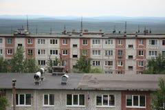 Κατοικημένη περιοχή Hibiny Στοκ φωτογραφία με δικαίωμα ελεύθερης χρήσης