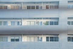 Κατοικημένη σκηνή διαμερισμάτων σε Shinjuku Τόκιο Ιαπωνία Στοκ Φωτογραφίες