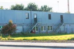Κατοικημένη τακτοποίηση εμπορευματοκιβωτίων Στοκ Φωτογραφία