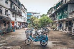 Κατοικημένος στο εξωτερικό νησί Χονγκ Κονγκ Στοκ Φωτογραφίες