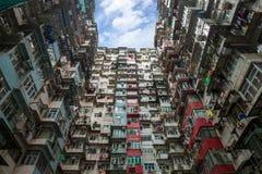 Κατοικημένο επίπεδο Χονγκ Κονγκ Στοκ φωτογραφία με δικαίωμα ελεύθερης χρήσης