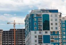 Κατοικημένο κτήριο διαμερισμάτων Στοκ Εικόνα