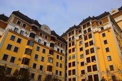 Κατοικημένο κτήριο σε Astana/το Καζακστάν Στοκ εικόνες με δικαίωμα ελεύθερης χρήσης