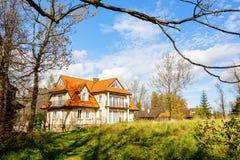 Κατοικημένο κτήριο σε Zakopane, Πολωνία Στοκ φωτογραφίες με δικαίωμα ελεύθερης χρήσης