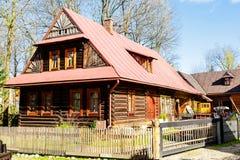 Κατοικημένο κτήριο σε Zakopane Στοκ εικόνες με δικαίωμα ελεύθερης χρήσης