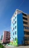 Κατοικημένο κτήριο στην εσωτερική Μογγολία Στοκ εικόνες με δικαίωμα ελεύθερης χρήσης