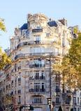 Κατοικημένο κτήριο στο μπαρόκ ύφος στοκ φωτογραφία με δικαίωμα ελεύθερης χρήσης
