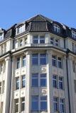 Κατοικημένο κτήριο Nouveau τέχνης στοκ εικόνα