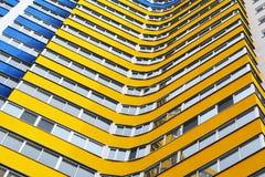 Κατοικημένο σπίτι-νέο κτήριο πολυ-διαμερισμάτων Στοκ εικόνες με δικαίωμα ελεύθερης χρήσης