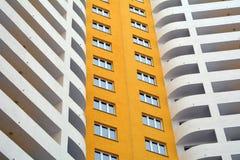 Κατοικημένο σπίτι-νέο κτήριο πολυ-διαμερισμάτων Στοκ Εικόνες