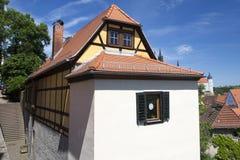 Κατοικημένο σπίτι σε Meissen Στοκ Εικόνες