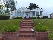 Κατοικημένο σπίτι στο Point Loma Καλιφόρνια. Στοκ φωτογραφία με δικαίωμα ελεύθερης χρήσης