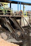 κατολισθήσεις λάσπης Στοκ Εικόνες