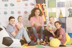 Κατοχή της διασκέδασης στο σχολείο Στοκ Εικόνα