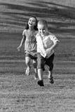κατσίκια λίγο τρέξιμο Στοκ Φωτογραφίες