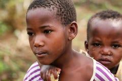 κατσίκια Ρουάντα Στοκ Εικόνες