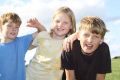κατσίκια τρία Στοκ Φωτογραφία