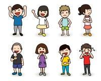 κατσίκια χαρακτήρων ελεύθερη απεικόνιση δικαιώματος