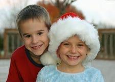 κατσίκια Χριστουγέννων έτ&o Στοκ φωτογραφίες με δικαίωμα ελεύθερης χρήσης