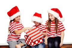 Κατσίκια Χριστουγέννων Στοκ φωτογραφίες με δικαίωμα ελεύθερης χρήσης