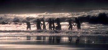 κατσίκια canteras las που παίζουν Στοκ φωτογραφίες με δικαίωμα ελεύθερης χρήσης