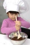 Κατσίκι αρχιμαγείρων σοκολάτας. Στοκ εικόνα με δικαίωμα ελεύθερης χρήσης