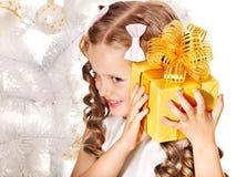 κατσίκι δώρων Χριστουγένν& Στοκ φωτογραφία με δικαίωμα ελεύθερης χρήσης
