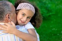 κατσίκι παππούδων υπαίθρι&a στοκ εικόνα με δικαίωμα ελεύθερης χρήσης