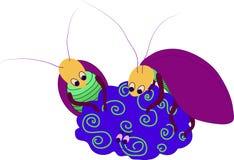 Κατσαρίδα στον εγκέφαλο Στοκ Εικόνα
