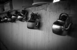 Κατσαρόλα δοχείων τσαγιού στοκ εικόνες με δικαίωμα ελεύθερης χρήσης