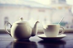Κατσαρόλα για το τσάι Στοκ Εικόνα